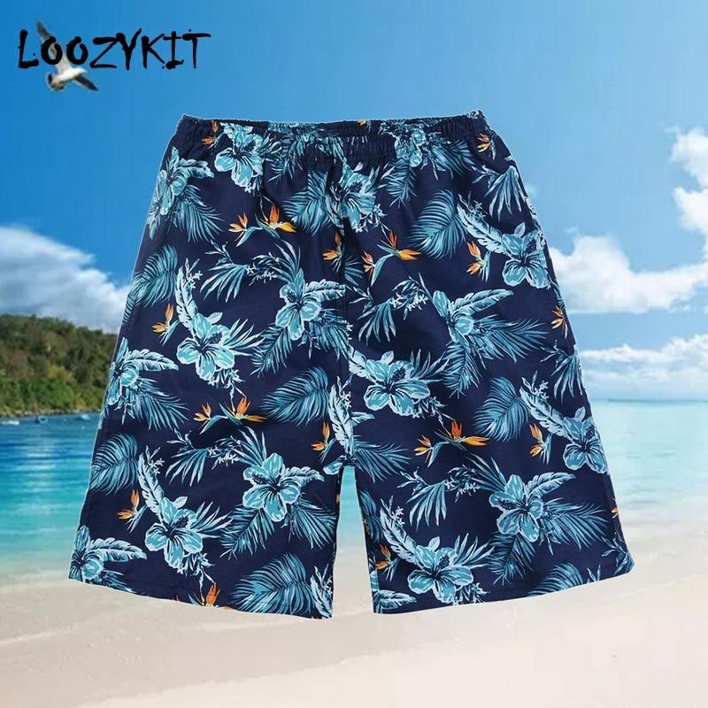 08aa61d561b1a9 Loozykit Summer Mens Shorts Swim Trunks Board Pockets Shorts Quick Dry Beach  Swimwear For Water Sports