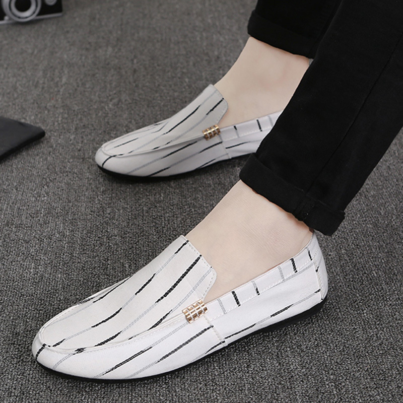 Men Fashion Casual Shoes Canvas Male Footwear Comfortable Flat Shoes Lace-Up Vulcanized Shoes Men Loafers 2018 New Style Men men s leather shoes vintage style casual shoes comfortable lace up flat shoes men footwears size 39 44 pa005m
