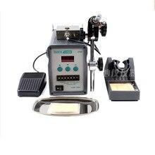 Быстрый 376D автоматический дисплей олова припойная машина из олова паяльник 220 В 90 Вт высокочастотный жар
