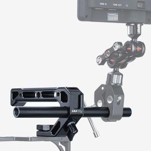 Image 5 - UURig R008 Camera Top Handle Hand Grip Handgrip Arri Locating Screw Monitor Mic Rig Cold Shoe for Nikon Canon Sony DSLR Camera