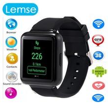 "2016 más reciente teléfono q1 smart watch mtk6580 quad core android 5.1 os 1.54 ""pantalla WiFi GPS 3G Mp3 Bluetooth Sim Smartwatch teléfono"