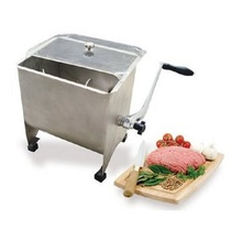 commercial hand operated stainless steel sausage used meat mixermeat mixing machinemeat mixer for capacity - Meat Mixer
