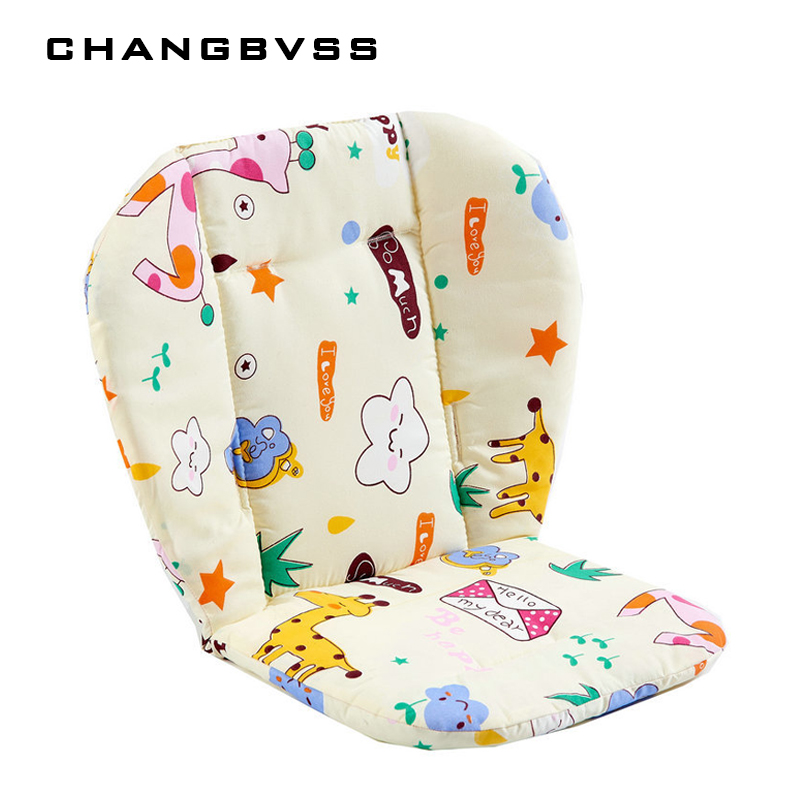 Cartoon Dining Chair Cushion,Accessories for Baby Carriage,Bright Color Soft Thick Pram Cushion,Baby Stroller Pad Car Seat Mats
