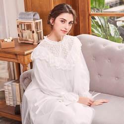 YSMILE Y сладкий кружево Sleepdress хлопок элегантный эстетическое пикантные ретро дворец длинные домашние услуги милые сетки связать женск
