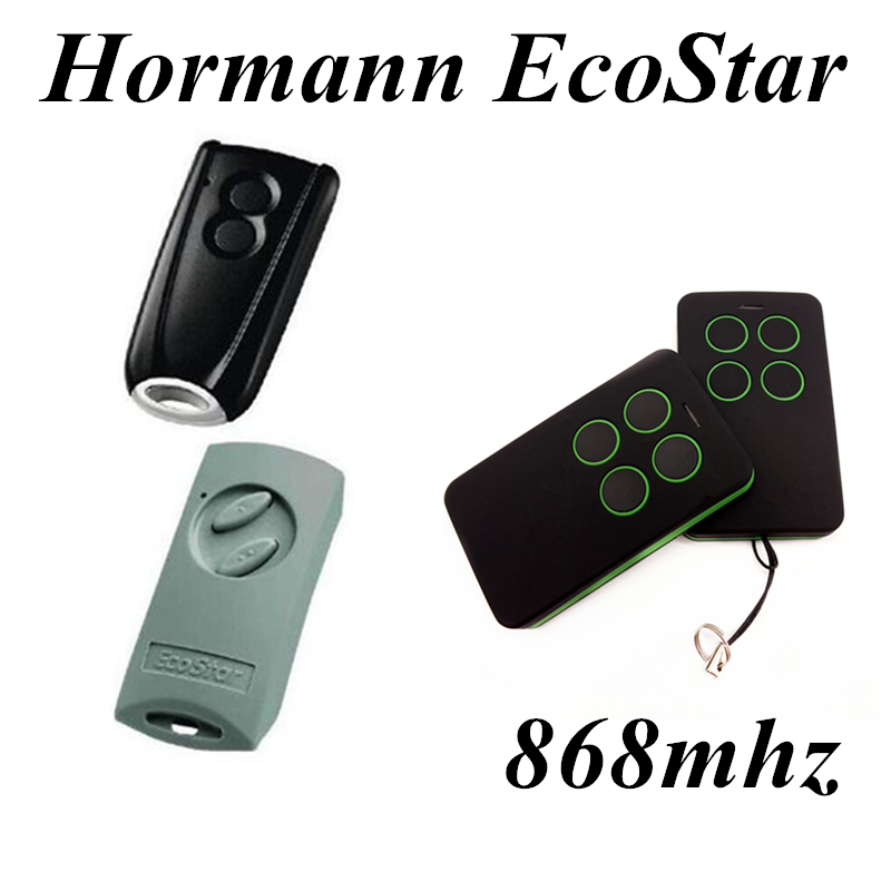 Garaga Gate Remote Control Hormann EcoStar RSC2 RSE2 Command Long Distance Auto Gate Remote Control 2 Pcs