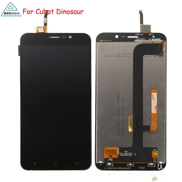 For Cubot Dinosaur LCD Display Touch Screen Digitizer Mobile Phone Parts For Cubot Dinosaur Screen LCD Free Tools
