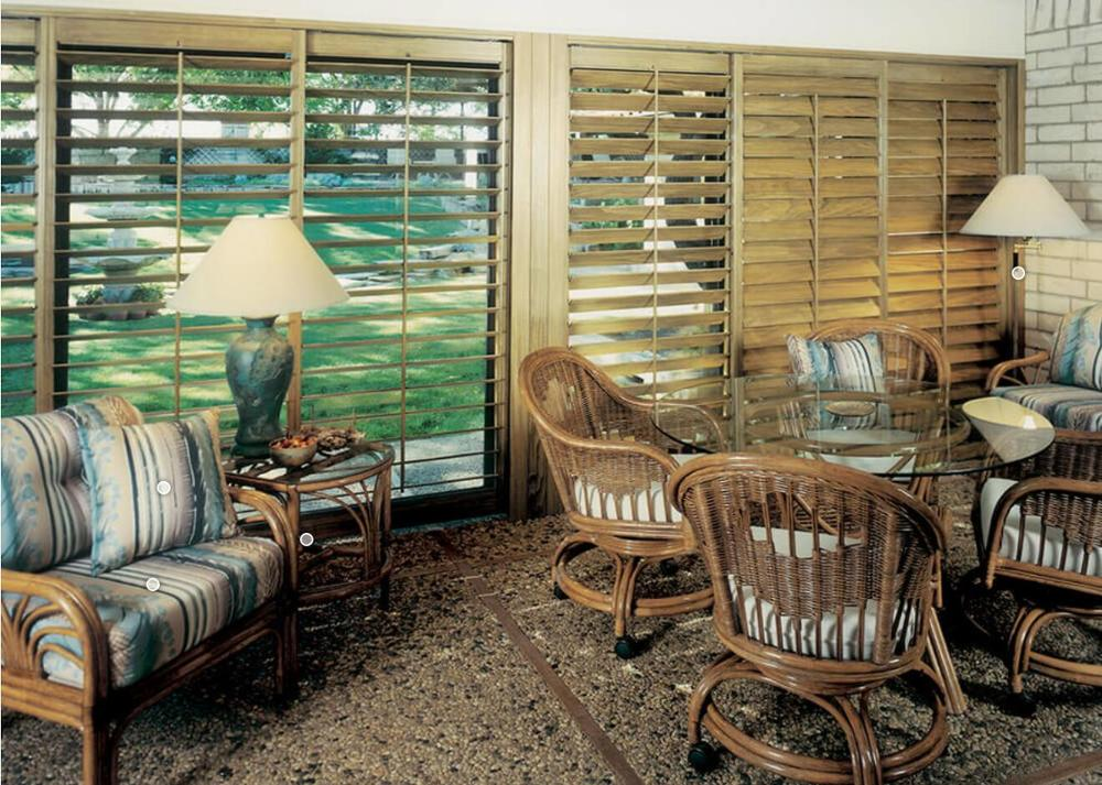 Basswood Plantation Shutter Window Louver Door Arch Wood Shutters