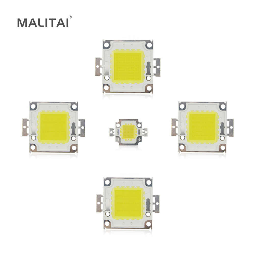 Putih/Hangat Putih 10 W 20 W 30 W 50 W 100 W LED light Chip DC 12 V 36 V COB Terintegrasi LED Chip lampu DIY Lampu Sorot Spotlight Bulb