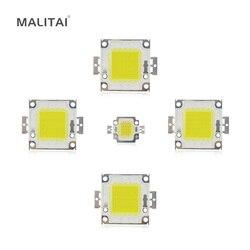 Белый/теплый белый 10 Вт 20 Вт 30 Вт 50 Вт 100 Вт Светодиодный светильник чип DC 12 В 36 В COB Интегрированный Светодиодный чип DIY прожекторная софитная ...