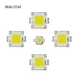 Белый/теплый белый 10 Вт 20 Вт 30 Вт 50 Вт 100 Вт светодиодный чип постоянного тока 12 В 36 В COB интегрированная Светодиодная лампа Чип DIY прожектор ла...