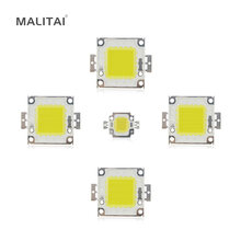 White / Warm White 10W 20W 30W 50W 100W LED light Chip DC 12V 36V COB Integrated LED lamp Chip DIY Floodlight Spotlight Bulb(China)