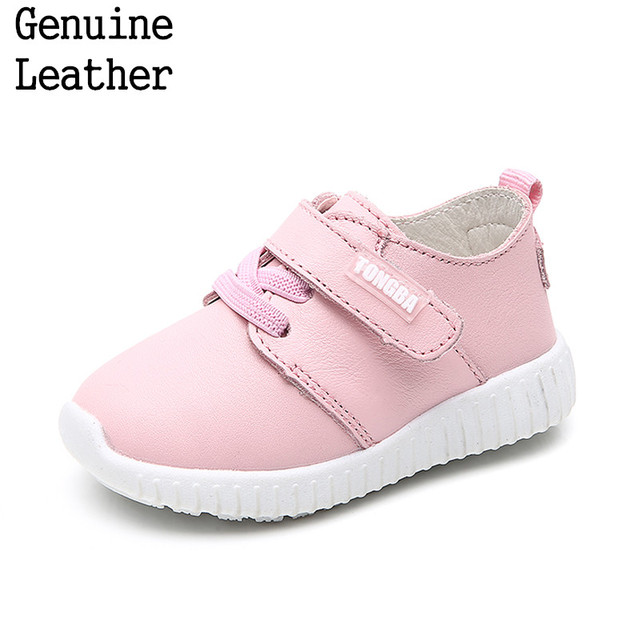 Super quality 1pair Genuine Leather Shoes Children kids Fashion Shoes, New Girl/boy lovely single shoes