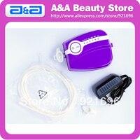 Portatile Mini Compressore del Airbrush Makeup Compressore del Airbrush con Adattatore di Alimentazione + Tubo Air + Airbrush Holder