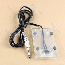 U119 Acrylic Tattoo Machine Footswitch Power Supply Foot Pedal Controller Transparent