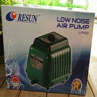 100W 140LPM RESUN LP 100 Low Noise Aquarium Oxygen Air Pump For Koi Fish Septic Tank
