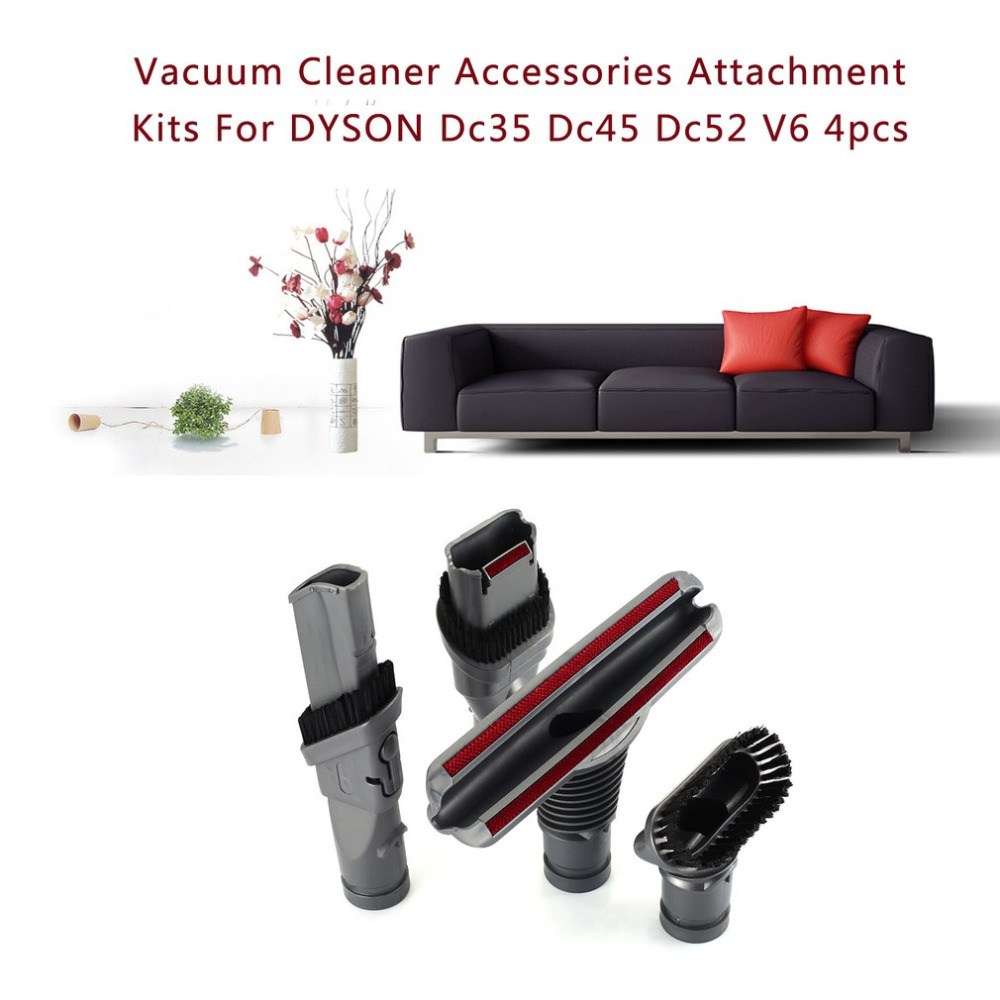 Home Appliances New Fashion Vacuum Cleaner Accessories Flexible Anti-static Transparent Furniture Tips For Dyson V6 Dc62 Dc52 Dc59