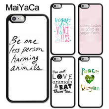 Be one less person harming animals + other vegan-related iPhone cases