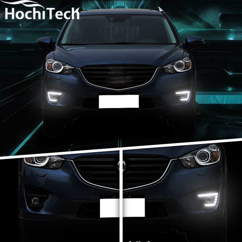 led drl for mazda cx 5 cx5 2012 2013 2014 2015 2016 led. Black Bedroom Furniture Sets. Home Design Ideas