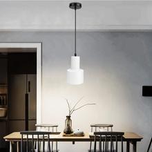 AC 100-240V Iron Pendant Light Simple Style E27 Base For Drawing Room Restaurant Cafe House pastoral style rattan wicker pendant light natural simple birds house pendant light