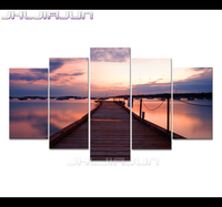 HD Prints Oil Painting Home Decorative Movie Posters 5 Pcs Canvas Art Modular Picture Frames Paintings
