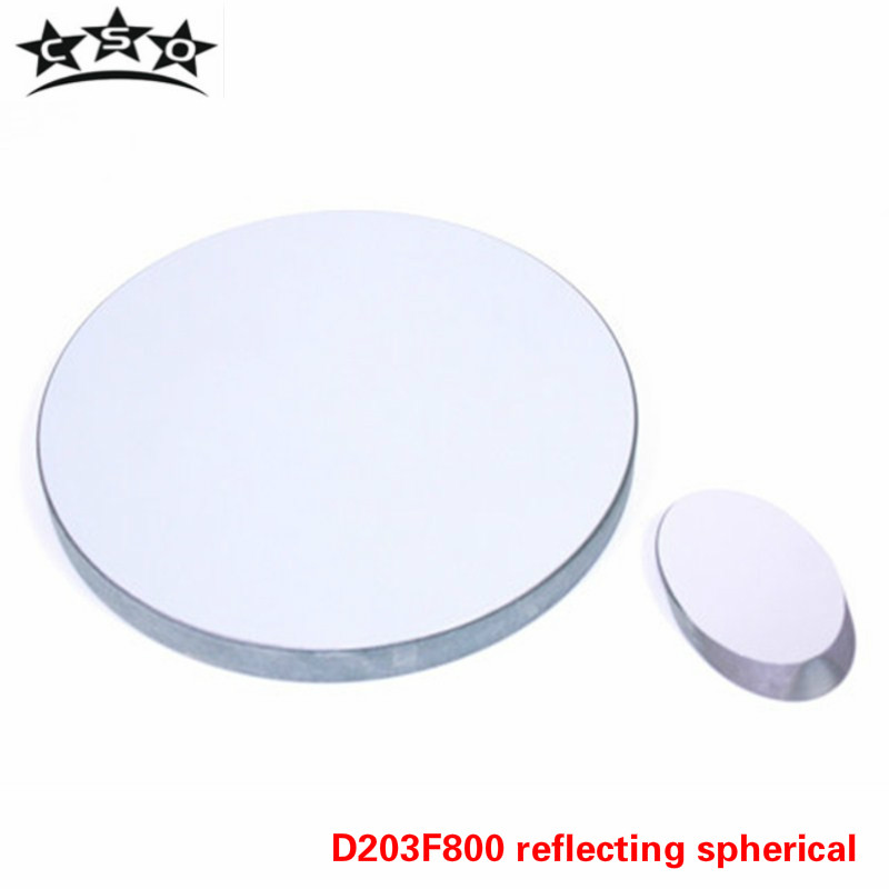 CSO D203 F800 Telescope Primary Mirror Objective Lens Group with Secondary Mirror D=203mm Focal Length 800mm Newtonian Reflect цена