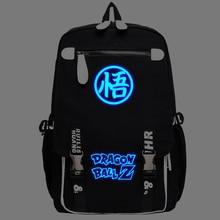Аниме Dragon Ball Косплей Световой сумка Корейской версии школьных мужчин и женщин моды рюкзак для детей подарок на день рождения