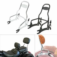 Motorcycle 12 Backrest Passenger Sissy Bar For Indian Chief Classic Vintage 2014 18 15 16 Dark Horse 16 18