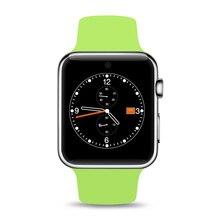 Neue Bluetooth Smart Uhr 2.5D ARC HD Screen Unterstützung SIM Karte Tragbare Geräte SmartWatch Magie Knopf Für IOS Android
