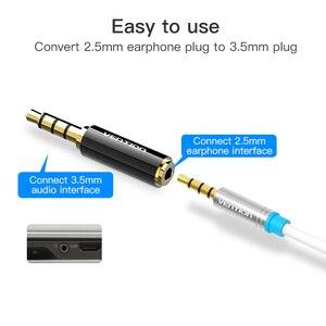 Image 3 - Prise de protection 3.5mm à 2.5mm adaptateur Audio 2.5mm mâle à 3.5mm prise femelle connecteur pour câble haut parleur Aux prise casque 3.5