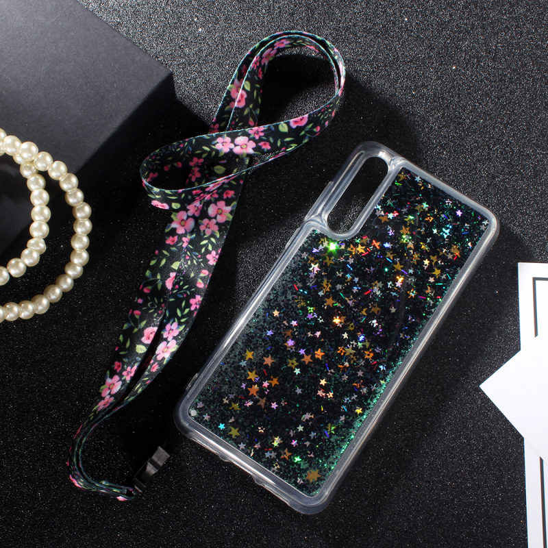 Silicone Case For Samsung Galaxy A50 A70 A30 A20 A10 M10 Case For Samsung A10 A20 A30 A50 A70 M10 Liquid Glitter Soft Back Cover