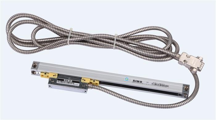 送料無料シノKA 500 270ミリメートル5 μ mデジタル読み出すKA500 0.005ミリメートル270ミリメートルリニアガラススケール用スパークマシンcnc旋盤  グループ上の ツール からの レベル計測器 の中 2