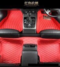 No odor right steering wheel RHD right hand drive waterproof non slip carpets car floor mats for RangeRoverSport /administrative(China)