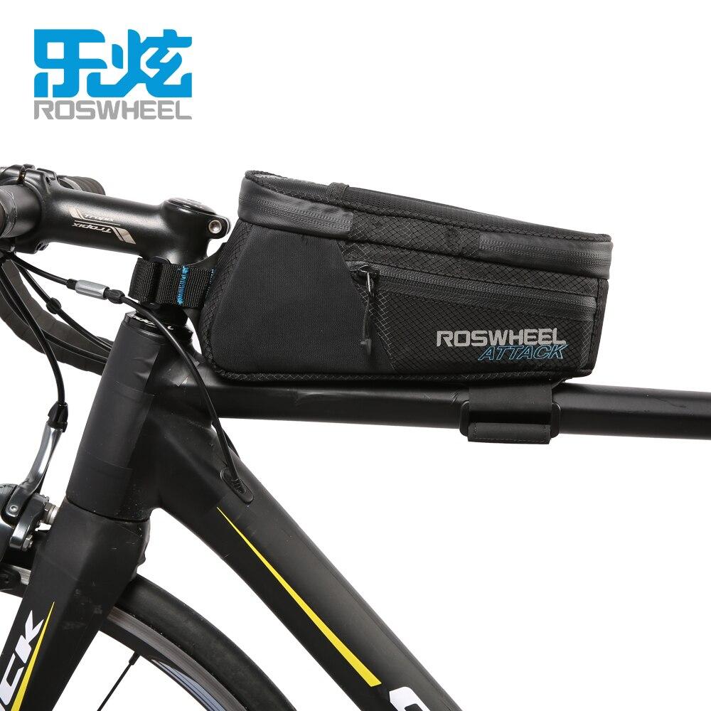 ROSWHEEL 1.5L Grande Capacité Imperméable Vélo Sacs Outil Sac Téléphone cas Pliage Tête Avant Top Tube VTT de Montagne Vélo De Route sacs