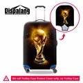 Latest Design Ball Printed Suitcase Cover elastic Waterproof Luggage Cover Spandex Luggage Protectors anti-scratch protective