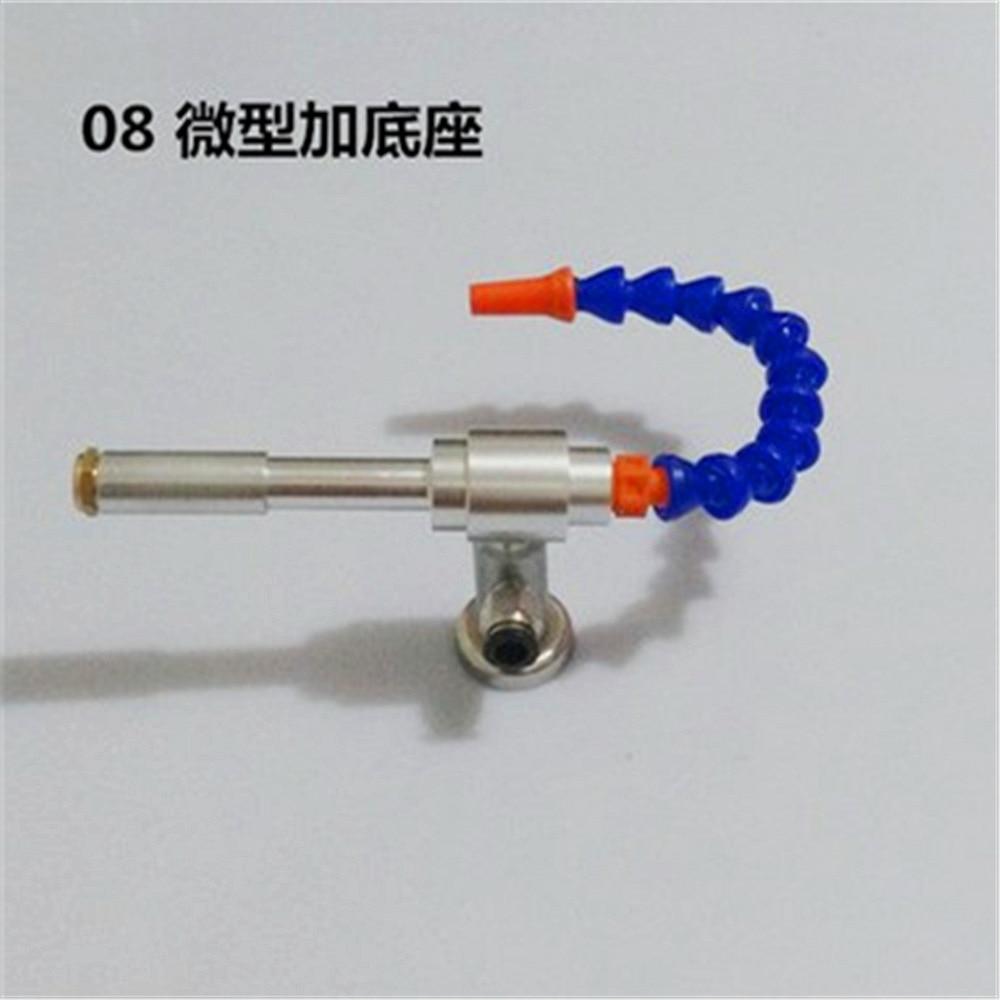 130mm Vortex Cold and Hot Air Gun Cold Air Gun Dry Cooling Gun Flexible Tube With The Base vortex cold and hot air dry cooling gun with flexible tube aluminium alloy 145mm lxm