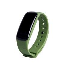 C1 браслет динамический сердечный ритм Мониторы Smart Band в реальном времени шагомер калорий браслет спортивные группы для iOS и Android