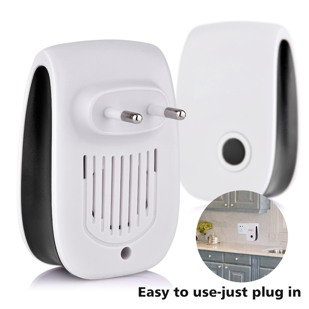 Image 4 - 4pcs/set Electronic Ultrasonic Pest Repeller Mosquito Rejector Mouse Rat Mouse Repellent Anti Insect Mosquito Repeller Killer-in Repellents from Home & Garden