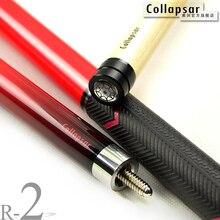 Новый коллапсара R02 красный палка бильярда 13 мм наконечник 147 см 19 унц. 20 унц. снукер палку девять мяч Бильярд