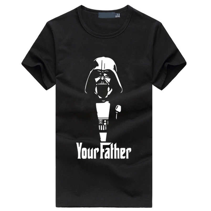 Join The Empire Fashion Star War Men's T-Shirts hip hop Yoda Darth Vader fitness tshirt homme Cool Storm Trooper brand clothing