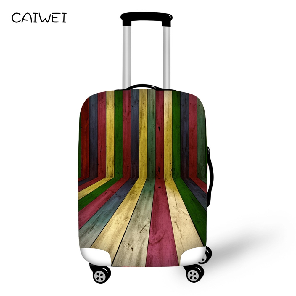 Colorful Luggage Covers Geometric designs Waterproof Suitcase Covers 18-30 inch Luggage Protectors for Traveling Accessories