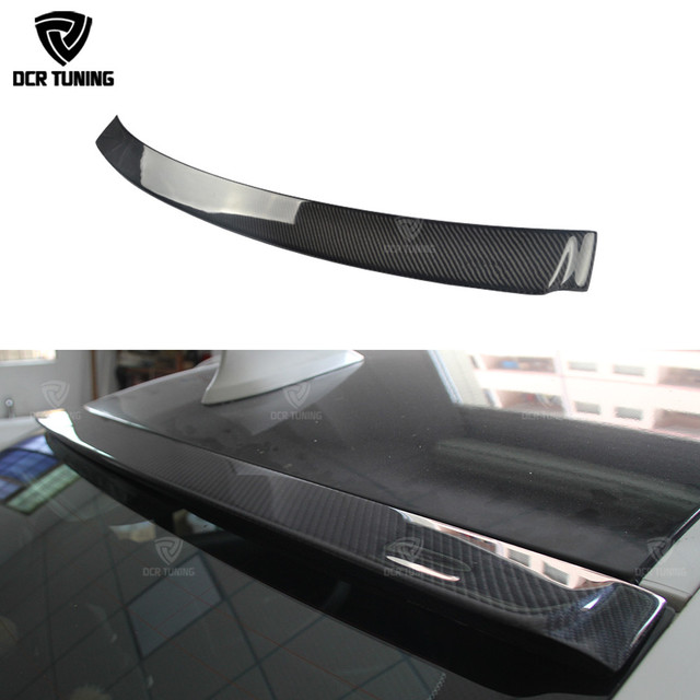 AC Style Carbon Fiber Roof Spoiler For BMW 3 SERIES F30 320i 328i 335i Top Wing Spoiler 2012 2013 2014 2015 2016 - UP