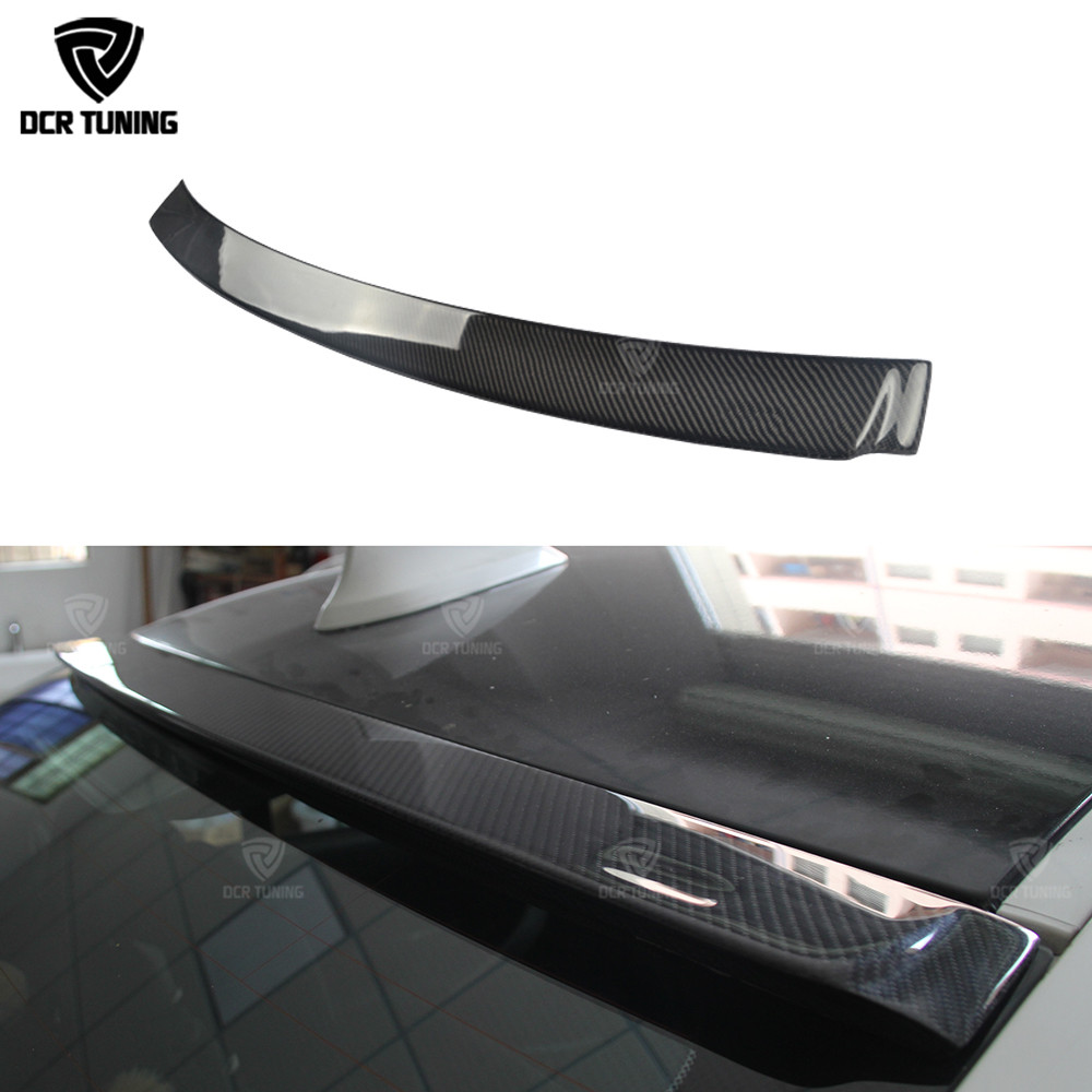 AC Style Carbon Fiber Roof Spoiler For BMW NEW 3 F30 SERIES 320i 328i 335i Top Wing Spoiler 2012 2013 2014 2015 2016 - UP replacement style for bmw 3 series 2013 2014 2015 2016 up 320i 328i 330i 335i 320 f30 carbon fiber side mirror cover