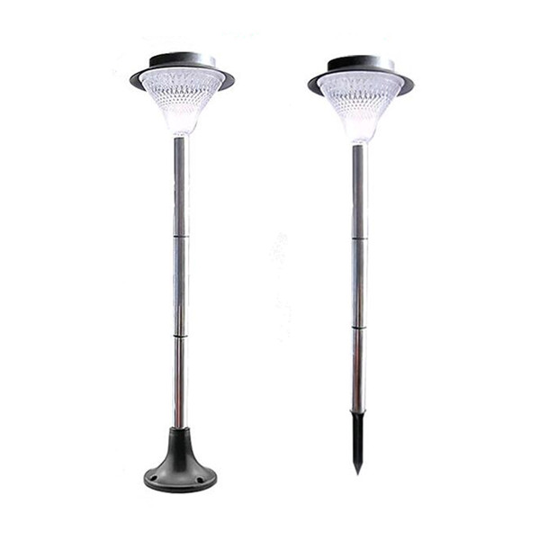 Blue Light Outdoor LED Solar Wall Lamp 3 x 1200mAh Ni-MH Battery Lawn Lamps Decoration for Garden A/B/C/D 4 Optional