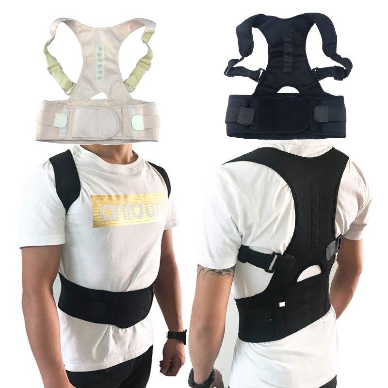 back brace houding correctie rug back support corrector de posture corrector de espalda rugbrace straightener schouder brace