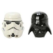 Star Wars 3D кружка черный Дарт Вейдер белый штурмовика Железный человек керамическая кружка кофе, чай подарки бутылка воды свадьбы декор