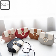XZP Fashion 2019 Women Girls New Casual Hot Sales Color Female Bag Portable Small Flower Purse Crossbody Mobile Phone