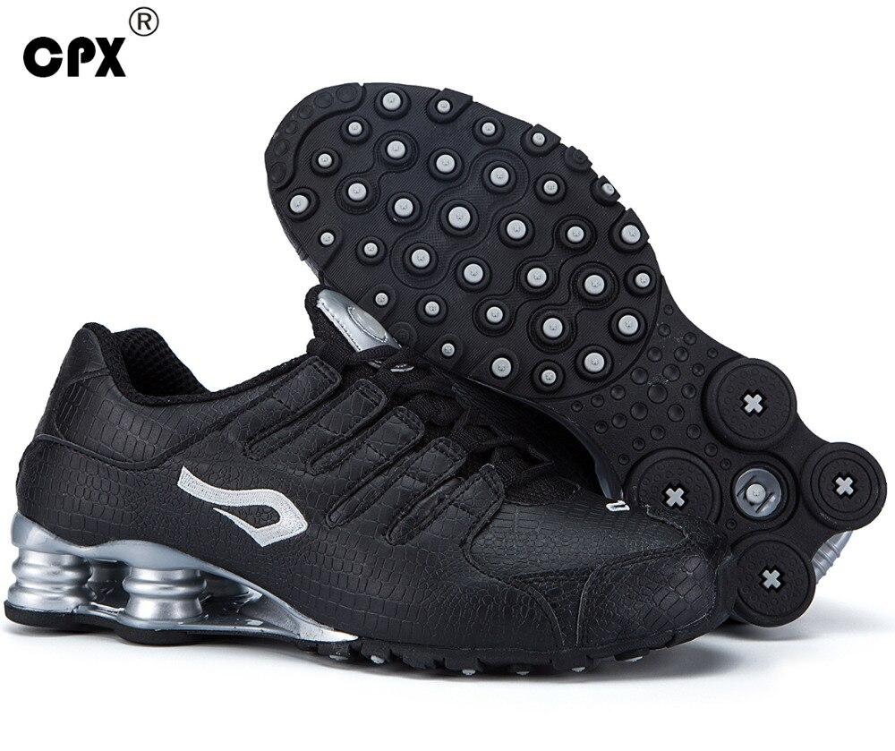 another chance 0630c bde71 Zapatillas deportivas Shox Tech originales CPX para hombre con patrón de  piel de cocodrilo en Zapatos para correr de Deportes y ocio en  AliExpress.com ...