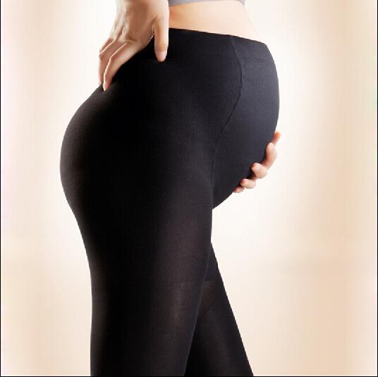 Tamanho livre 2015 Novas Leggings de Algodão Calças de Maternidade Grávida Ajustável Engrossar e Quente Leggings Confortáveis