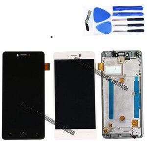 "Image 2 - 5.0 ""สำหรับ BQ Aquaris U Lite LCD + touch digitizer เปลี่ยนสำหรับ BQ Aquaris U จอแสดงผลซ่อมอะไหล่กรอบ"