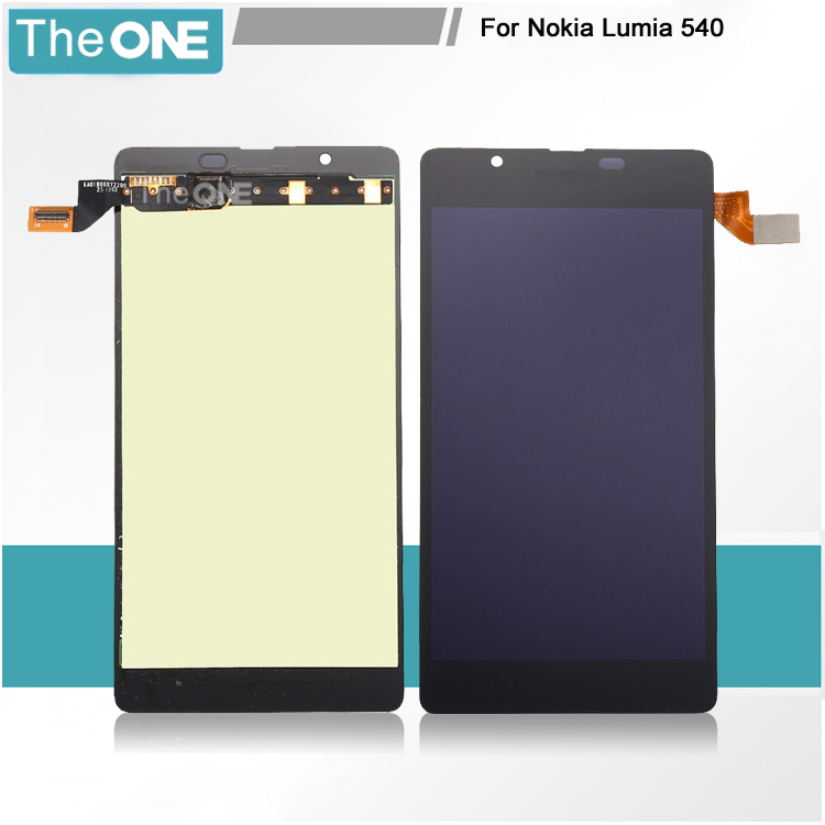 ФОТО Free DHL Black LCD Display + Touch Screen Digitizer Assembly Replacement For Microsoft Lumia 540